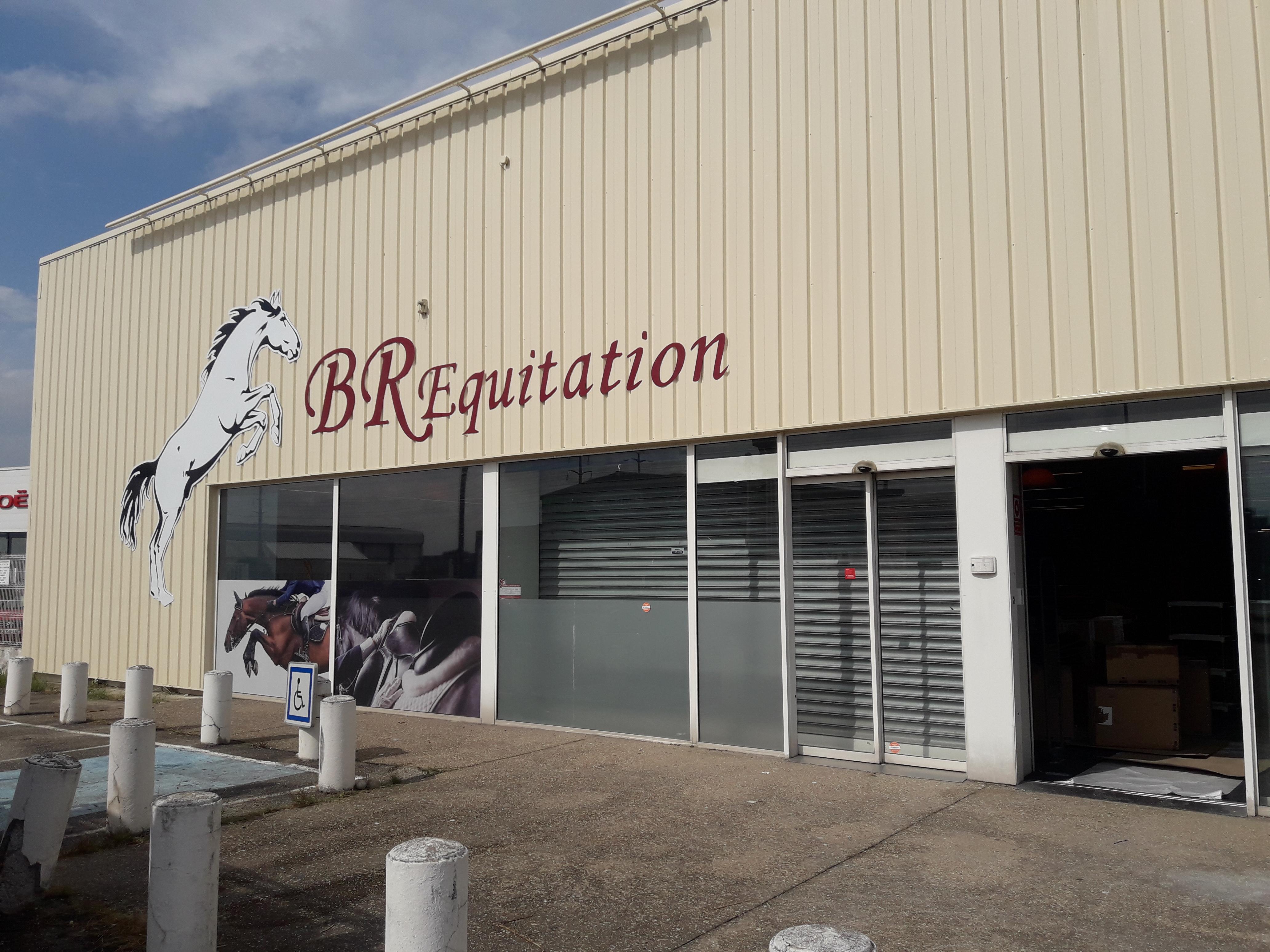 Enseigne BR Equitation - Sodifalux