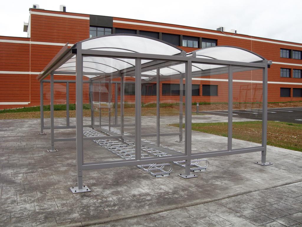 Mobilier urbain - Abris de vélo Dijon - Sodifalux